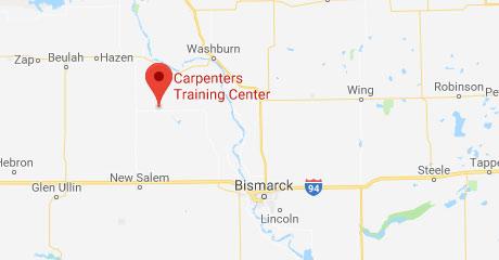 Map of Bismarck-Mandan Training Center Location