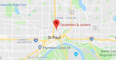 Map of Carpenters Training Center Location