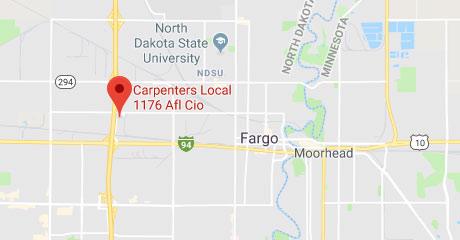 Map of Fargo Training Center Location