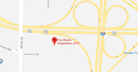 Map of Five Rivers Training Center Location