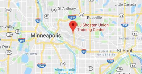 Map of LJ Shosten Training Center Location