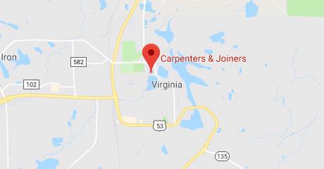 Map of Virginia Training Center Location